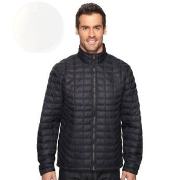 The North Face Other - The North Face Navy Quilted Thermo Jacket Size L